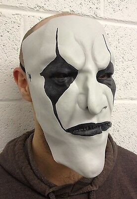 Jim Root Style Slipknot Latex Maske Replik Halloween Hofnarr James Kostüm Bl (Slipknot Halloween Masken)