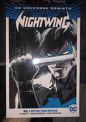 NIGHTWING REBIRTH Vol.1 Better Than Batman - Trade Paperback TPB - DC