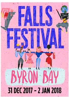 Selling Byron Bay falls ticket + camping
