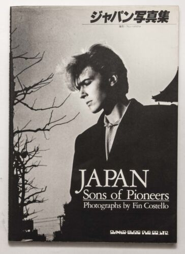 JAPAN Sons of Pioneers / Fin Costello David Sylvian Mick Karn Steve Jansen Book