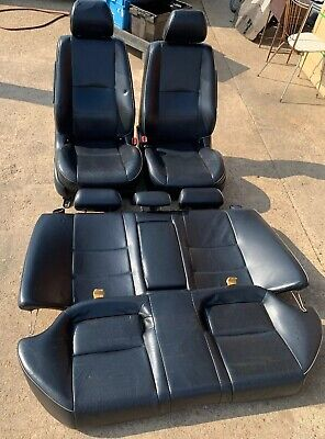 99-05 LEXUS IS200 BLACK FULL LEATHER SEATS FRONT & REAR