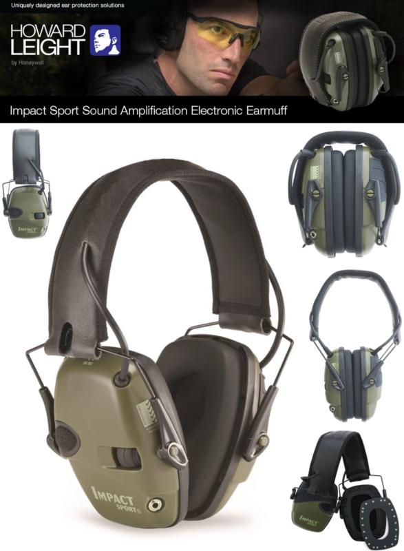 Electronic Ear Muffs Shooting Hunting Noise Protection Heari