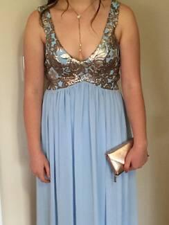 Ball Dress Powder Blue size 12