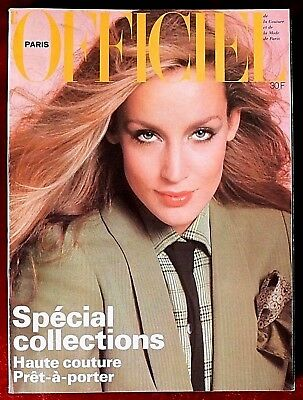 L'Officiel Paris Magazine ~ #640 March 1978 ~ Jerry Hall Haussaire