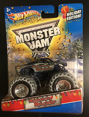 Hot Wheels Monster Jam 1/64 Mechanical Mischief  2012 Holiday Edition