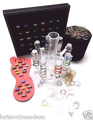 NEW 150+ Toe Rings New Includes all display pieces shown