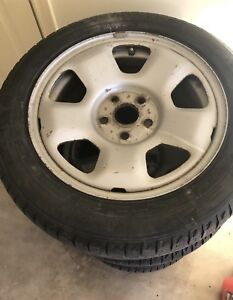 2009-2014 Acura TL winter rims with tires - like new