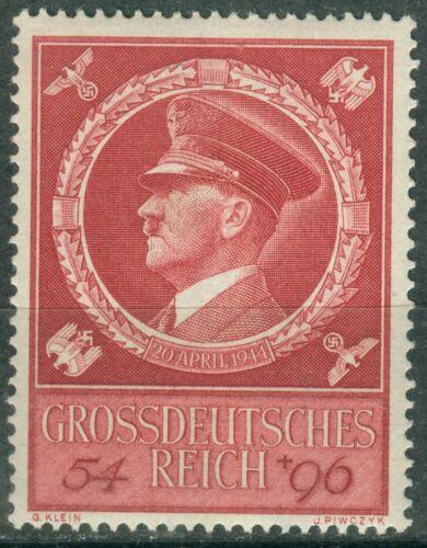 Deutsches Reich 887 , ** , * , o , - 55. Geburtstag Adolf Hitler