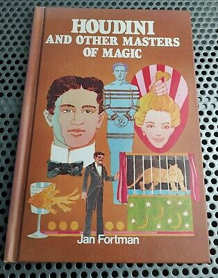 Houdini and Other Masters of Magic HB Book - Jan Fortman - 1977