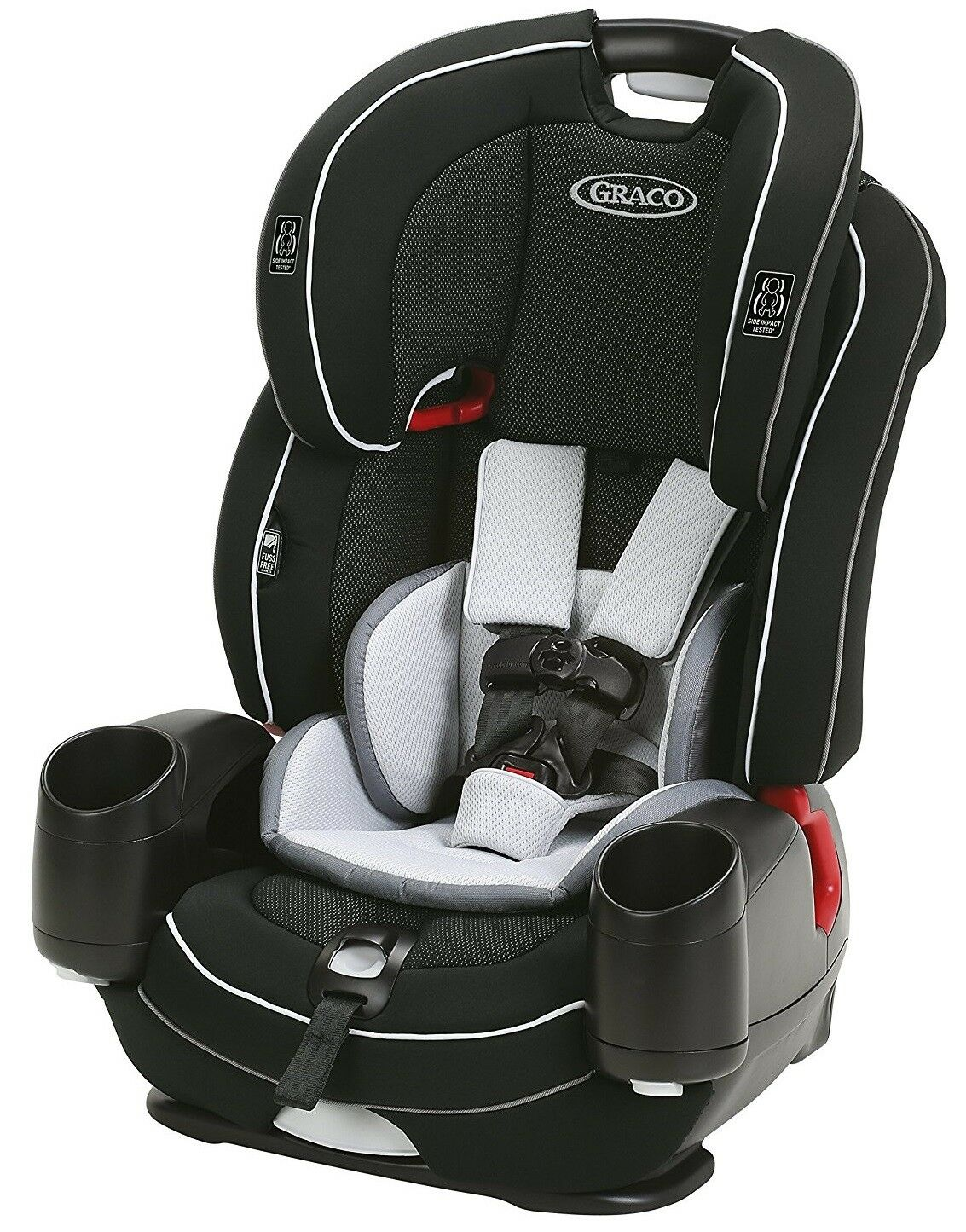 ba61fc9bf3f ... Booster Car Seat Codey NEW 2018 Graco Baby Nautilus Snug LX 3-in-1  Harness Booster Car Seat Codey NEW 2018 Graco Baby Nautilus Snug LX 3-in-1  Harness ...