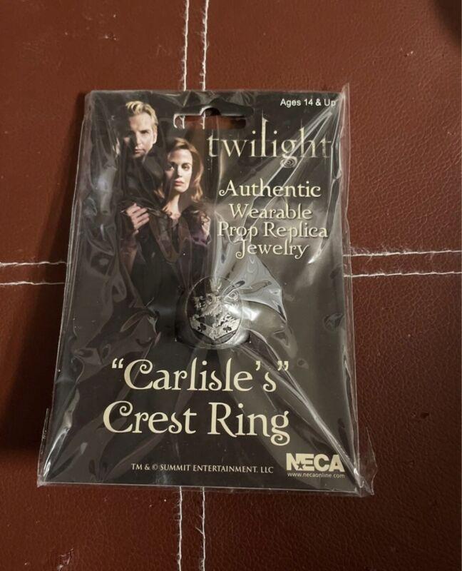 twilight saga carlisle crest ring new in package