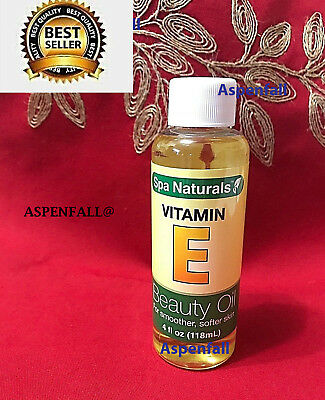 BEST SELLER~ Spa Naturals Vitamin E Beauty Oil Smooth For Soft Skin 4 oz