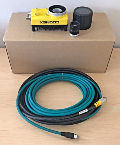 New Cognex In-sight Is5600-11 W/ Patmax + Lens + Cables Vision Camera 5600-11