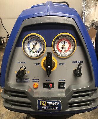Yellow Jacket 95760 Refrigerant Recovery Xlt Machine12 Hp115v