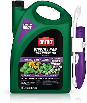 Ortho 448805 WeedClear Ready to Use1-with Comfort Wand, Broadleaf Lawns, 1 gal