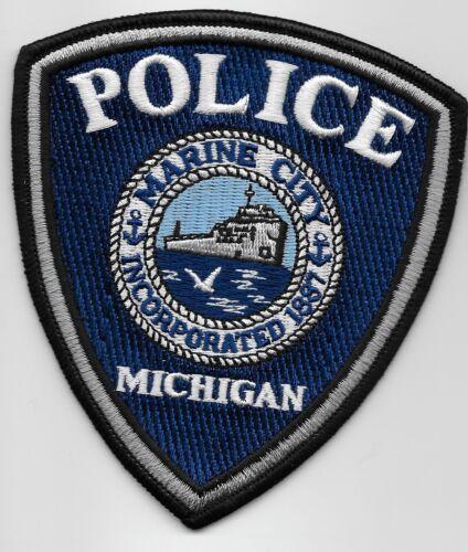 Marine City Police State Michigan MI NEAT