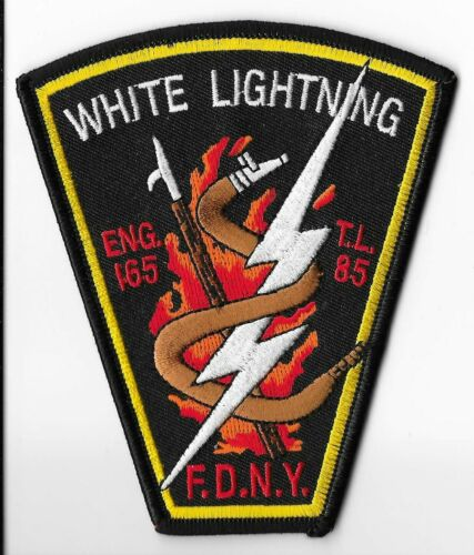New York Fire Department (FDNY) Engine 165/Ladder 85 Patch