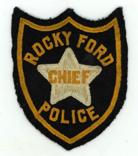 Rocky Ford Police Department Chief Colorado cheesecloth