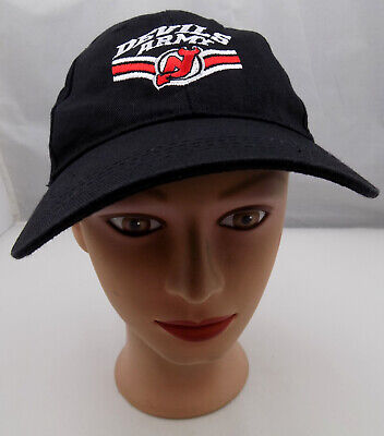 New Jersey Devils Army Hat Black Adjustable Baseball Cap Pre-Owned -