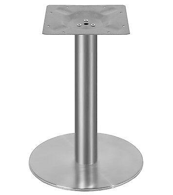 Edelstahl Beistelltisch Tischgestell 45cm Untergestell Tischfuß Bistro Tisch ()
