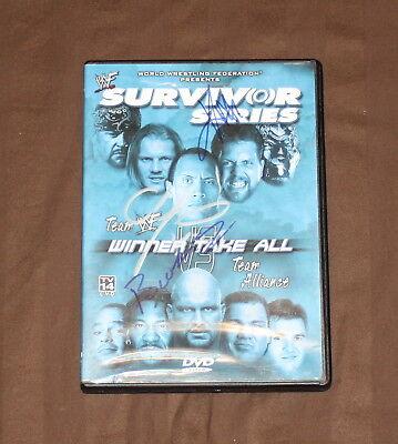 WWF - Survivor Series 2001: Winner Take All (DVD) WWE *AUTOGRAPHED* RARE