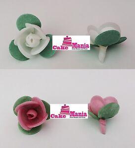 Kit 10 rose in cialda ostia vari colori decorazioni torte for Decorazioni torte vendita
