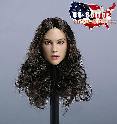 1 6 Monica Bellucci Head Sculpt For Mal Na Phicen Hot Toys Female  In Stock