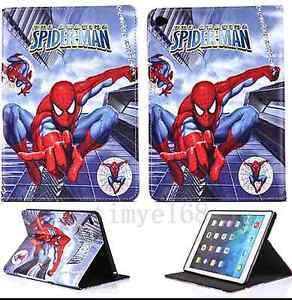 Spiderman iPad Air 2 3 4 case Albion Park Shellharbour Area Preview