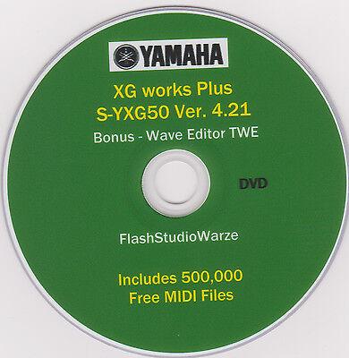 Yamaha S Yxg50 Xg Gs Gm Virtual Midi Player    Midi Editor   Free 50K Midi Files