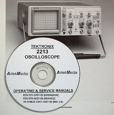 Tek 2213 Operating Service Manuals 3 Volumes