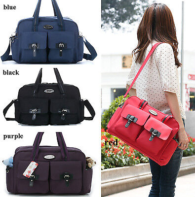 New Pretty Baby Diaper Nappy Bag mummy bag red/Purple/black/blue (CLD10199)