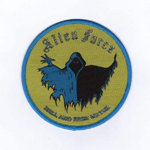 """Alien Force """"Hell And High Water"""" Patch black fate-riot-anvil-raven-judas priest"""