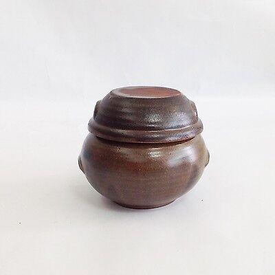 "150 ml Pottery Porcelain Jar Pot for Food fermentation Onggi Korean Ceramic 3.3"""