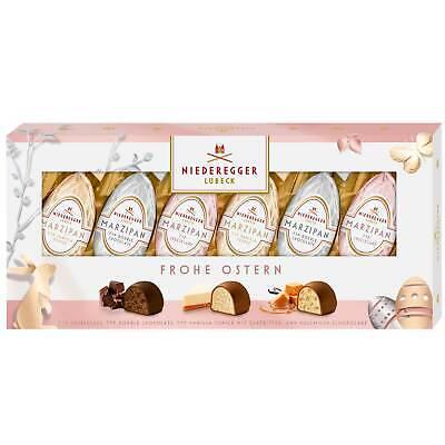 Niederegger Lubeck Marzipan HAPPY EASTER chocolate VARIETY 100g -FREE SHIPPING Dark Chocolate Marzipan