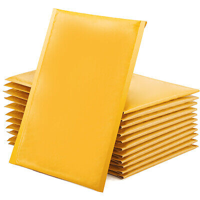 2550100 Pack Kraft Bubble Mailers Self Seal Padded Envelopes For Packaging