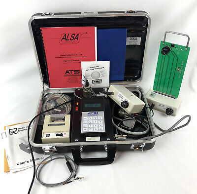 Atsi Alsa 1250 Automated Loop System Analyzer Surge Supression Traffic Control