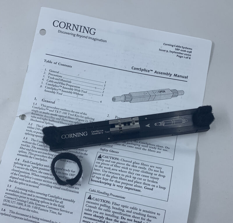 Corning CamSplice Assembly Tool