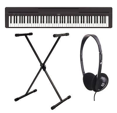 Yamaha P-45B Digital Piano Stage Piano E- Piano 88 Tasten Set Stativ Kopfhörer segunda mano  Embacar hacia Spain