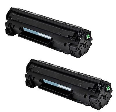 2-Pack/Pk CE285A 85A 285A Toner Cartridge For HP LaserJet P1102 P1102W M1212NF