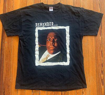 Vintage 1997 Biggie Smalls Hip Hop Rap T Shirt XL