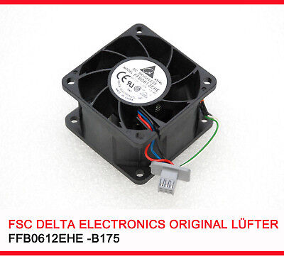 54dB STARK  LÜFTER FAN STRONG  COOLER M. 8000 U/MIN FSC DELTA 60x60x38 MM #A5  - 5 Min Fan