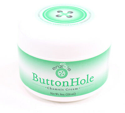 ENZO'S CYCLING PRODUCT BCCC-8 OZ. ENZO'S BUTTON HOLE CHAMOIS 8OZ JAR