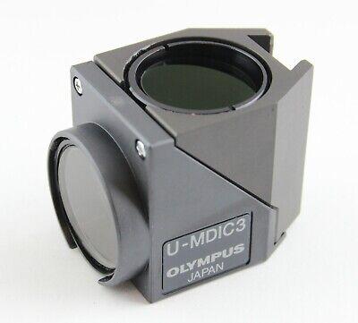 Olympus U-mdic3 Cube Ax Ix Bx Microscope Dic Polarizing Pol