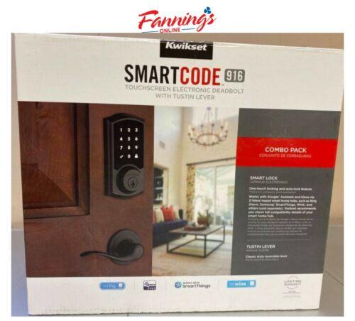 USED Kwikset SmartCode 916 Combo Pack