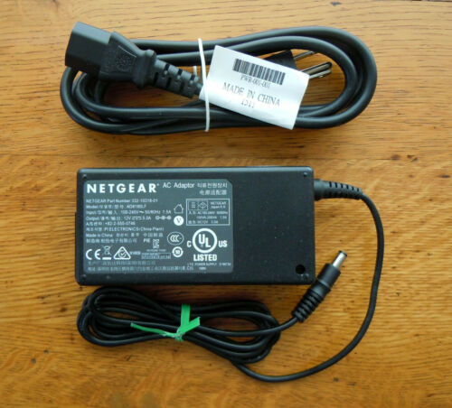 Genuine Netgear AD8180LF AC Adapter 332-10318-01 Router R8000 R6300 AC1750 R6200