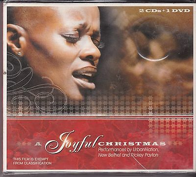 A JOYFUL CHRISTMAS - URBAN NATION, NEW BETHEL AND RICKEY PAYTON on 2 CD's + DVD ()