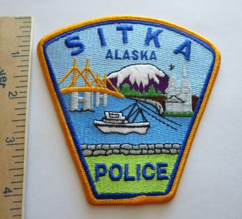 SITKA ALASKA POLICE PATCH Vintage Original