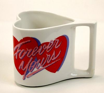 Heart Shaped Mug Great for Gift Idea to fill with Candy Valentines Coffee Cup