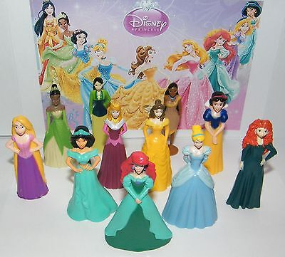 Disney Princess Party Favor set of 11 Fun Deluxe Figures and Bonus Tattoos