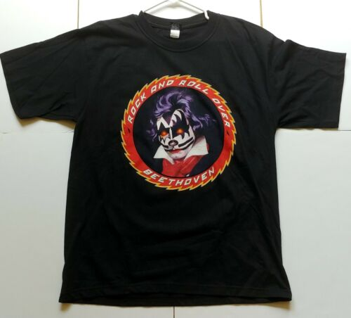 KISS Band Symphony Australia Aussie Concert T-Shirt Rock And Roll Over Beethoven